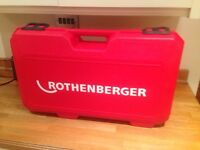 Rothenberger Rofrost Pipe Freezeing