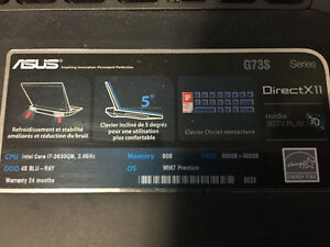 ASUS Gaming Computer G73S - New Price