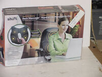 SHIFT3 ELECTRONIC BACK MASSAGER with HANDHELD  CONTROL -$10.00