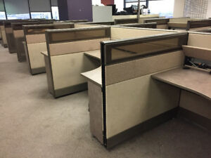 TAYCO Modular Office Furniture 140 Stations For Sale