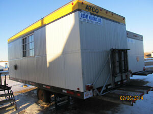 8x20 Wheeled Office Trailer For Rental Strathcona County Edmonton Area image 2