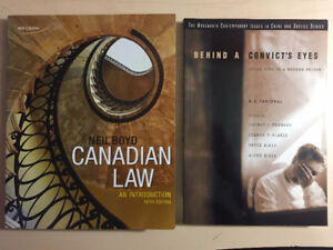 Selling Guelph Humber Textbooks – Justice Studies
