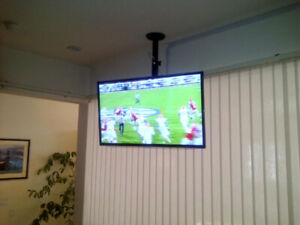 Support Ecran ordinateur LCD Plasma Plat ou TV pour Plafond