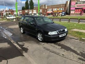 Octavia estate 1.6, ideal work car or cheap run about.