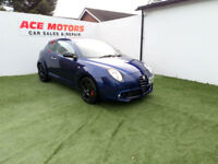 2010 ALFA ROMEO MiTo 1.4 TB 155 BHP VELOCE COUPE,ONLY 54000 MILES WITH SH