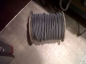 Full  75M Roll of 12/3 BX or Armored Cable