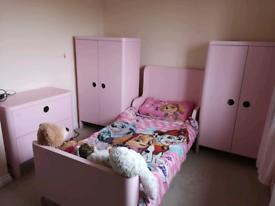 Ikea Busunge Child's Bedroom Furniture