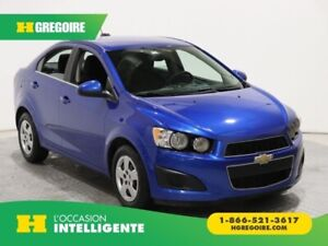 2016 Chevrolet Sonic LT AUTO A/C GR ELECT BLUETOOTH CAMERA DE RE