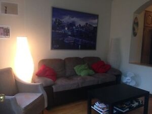 Plateau beaautiful 71/2, 2 floor apt.,private back-yrd .Sep 1st.