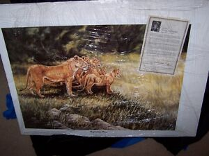 "GAIL ADAMS ""UNFINISHED PRIDE"" VERY LIMITED PRINT 7/10,SIGNED/'00"