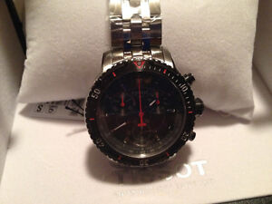 TISSOT PRS200 CHRONOGRAPH, anthracite, New in Box.
