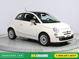 2013 Fiat 500 Lounge A/C CUIR TOIT MAGS BLUETOOTH