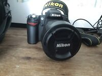 NIKON CAMERA with full kit mint condition