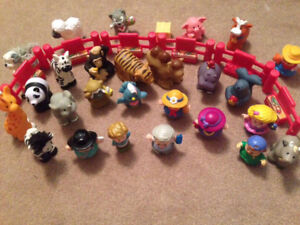 Fisher price character and animal lot