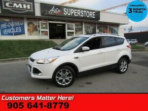 2014 Ford Escape Titanium  4X4 NAV ROOF LEATH CAM BS MEM PARK-SE