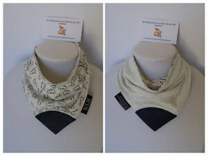 Reversible teething bibs (Many Colors/Designs available)
