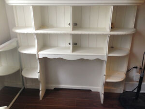 Armoire/ Shelf in all purpose with flower decorations