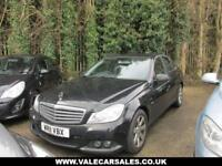 2011 56 MERCEDES-BENZ C CLASS 2.1 C220 CDI BLUEEFFICIENCY SE 4D 168 BHP DIESEL