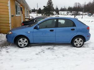 2006 Chevy Optra Saftied, Etested and Warrantied, Only 98K