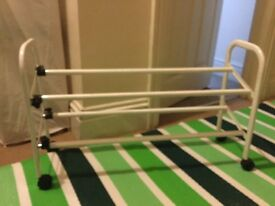 Expandable shoe rack , 2Tiers ,can be dismantled