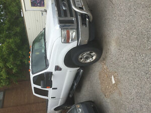 super duty f350 crew cab contractor 8 ft box