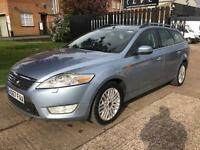 2008 Ford Mondeo 1.8TDCi Ghia 125bhp Estate. Parking sensors. GREAT MPG. PX