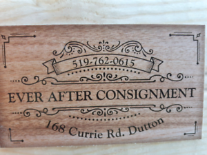 New store in Dutton.   Ever After Consignment