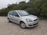 2007 Ford Fiesta 1.25 Style Climate 5 doors petrol manual in silver