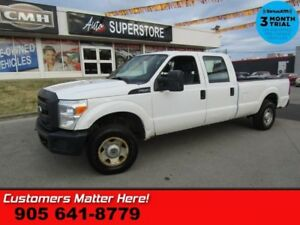 2013 Ford F-250 Super Duty XL  AS IS (WORK TRUCK SPECIAL) CREW 6