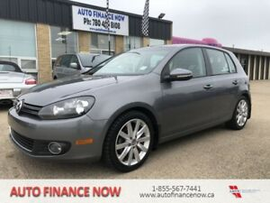 2012 Volkswagen Golf 5dr HB DSG TDI CHEAP LOADED LEATHER 63kms.