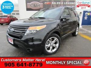 2015 Ford Explorer Limited  4X4, (NEW TIRES), NAVI, LEATHER, ROO
