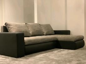 Brand New Corner Sofa Bed call 07306109900
