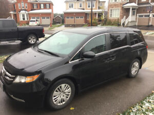 2014 HONDA ODYSSEY LX 3 YEARS WARRANTY WINTER TIRES REMOTE START