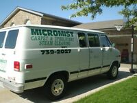CARPET CLEANING VAN AND EQUIPMENT FOR SALE