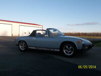 1974 Porsche 914 5-spd 2.0 L Extensively Restored  $18,500