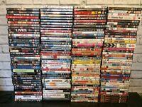 Over 150 Dvds inc box sets