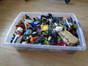 16 lbs of LEGO