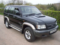 2005 05 Plate Isuzu Trooper 3.0 TD , 89,000 Miles , New Arrival In Black