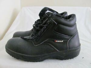 NEW WOMENS STEEL TOED WORK BOOTS