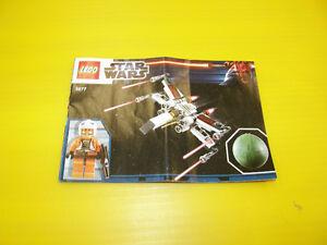 Ensemble Lego Star Wars 9677 X-wing Starfighter & Yavin 4 - 15$