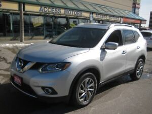 2014 Nissan Rogue SL, Navigation, leather, Sunroof, Extra Clean