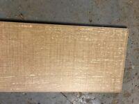 Ceramic oak wood effect tiles