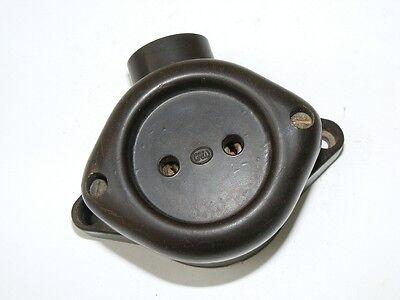 Old Bakelite Socket Exposed Ap 1 Dispatch Loft Design Art Deco