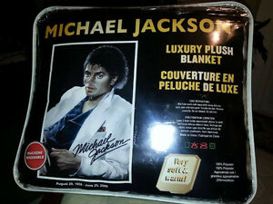 Michael Jackson Plush Blanket