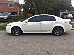 2006 Acura TL with type S rims and Tail lights