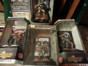 PEWTER FIGURINE LIMITED EDITION SUPER HEROES $40 each Windsor Region Ontario image 1