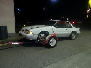 1988 FORD MUSTANG 2 DOOR COUPE - PART OUT London Ontario image 1