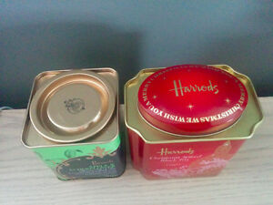 Tins from Harrods, England Kitchener / Waterloo Kitchener Area image 2
