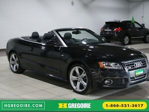 2012 Audi A5 2.0L Premium AWD AUTO A/C CONVERTIBLE MAGS