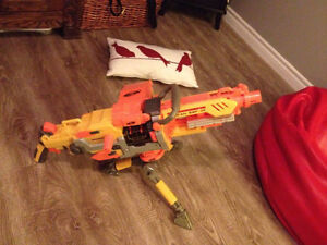 Nerf Vulcan! WORKING! and super fun see for more details London Ontario image 1